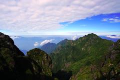 Splendid mountains view from Fansipan, Sapa, Vietnam (Andrey Sulitskiy) Tags: fansipan sapa vietnam