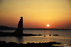 Torre de san saturnino Galicia Cambados (Ismael Owen Sullivan) Tags: galicia foto fotografia d5300 digital españa europa europe travel photography nikon nature naturaleza natural sky sea sun sunset sombras shadow silueta