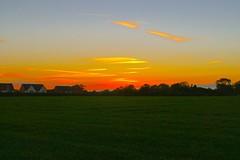 Autumn sunset (Ugborough Exile) Tags: gnosall stafford staffordshire midlands england uk sony a6300 2018