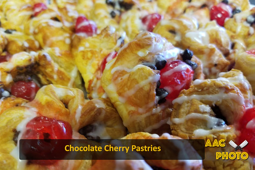 "Chocolate cherry pastries • <a style=""font-size:0.8em;"" href=""http://www.flickr.com/photos/159796538@N03/44172191975/"" target=""_blank"">View on Flickr</a>"