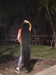 https://longhair4sales.blogspot.com/2018/09/longhair-ldh399-150cm.html (韩老板收购长头发) Tags: longhair haircut hairshow hairplay braid ponytail hairbun