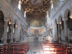 Basilica di San Clemente - Roma (Eli.b.) Tags: roma rome chiesa eglise church basilica mosaico sanclemente arte art architettura italia italy europa europe soffitto