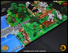 Brickworld_Mich_05 (Cooper Works 70) Tags: lego ww2 wwii battle mech mecha stickers cooper works