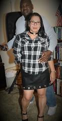DSC_6273 (Ez2plee4u) Tags: sexy filipina wife husband skirt dress american flag booth high heels dance leg beauty beautiful leather red black yellow tv smile face colorado love happy short