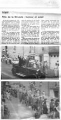 1984: Fête de la Saint-Louis, humour et soleil