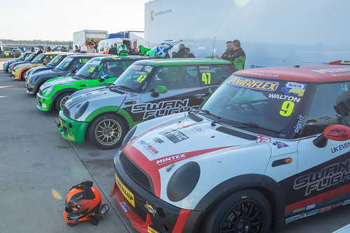 MINI Challenge Rockingham MSVR finals