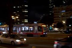 Training Run (imartin92) Tags: sanfrancisco municipal railway california muni light rail vehicle lrv siemens s200 lrv4 railroad transit night pan