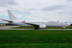 N314XA (Swift Air) (Steelhead 2010) Tags: swiftair boeing b737400 b737 yhm nreg n314xa