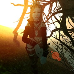 Only the sun has stopped... (thestorygiver) Tags: maitreya lelutka tram yummy pfc cd cerberusxing cx insol avaway lotus gacha sl viking wildling fantasy banner saga cureless blogging fashion