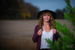Ally (Ron Harbin Photography) Tags: gorgeous outdoor lightroom people diffused soft art depth field senior pictures fall 2017 d750 nikon 70200mm f28