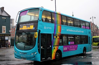 Arriva North East: 7634 / YJ61 OBG