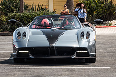 Best Huayra Roadster I've Seen (Hunter J. G. Frim Photography) Tags: supercar hypercar carmel monterey car week 2018 carweek pagani huayra italian v12 turbo carbon coupe roadster rare wing paganihuayra gray silver white paganihuayraroadster