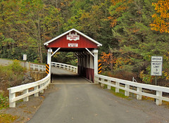 Packsaddle / Doc Miller Covered Bridge (George Neat) Tags: packsaddle docmiller coveredbridge bridge building structure scenic landscape history historical somerset county pa pennsylvania georgeneat laurelhighlands neatroadtrips