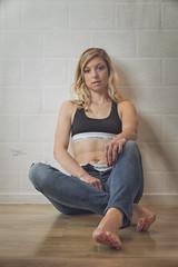 Angélique (www.michelconrad.fr) Tags: rouge bleu vert jaune canon eos6d eos 6d ef24105mmf4lisusm 24105mm 24105 femme modele portrait studio noir pose glamour lingerie