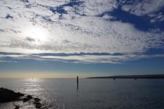 Clouds over Poole Harbour (Derek Morgan Photos) Tags: dorset clouds sandbanksquay pooleharbour