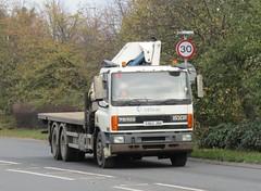 Celvac enviromental T362 JRH at Welshpool (Joshhowells27) Tags: lorry daf cf dafcf celvacenviromental flatbed t362jrh 75cf daf75cf