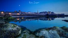 Saint Malo Blue Hour (Njones03) Tags: 2018 bretagne landscape montsaintmichel nicolassavignat saintmalo seascape