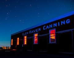 The Night Time is the Right Time - Part 2 . . . (Dr. Farnsworth) Tags: canning company historic stars freighters night museum glenhaven mi michigan fall september2018