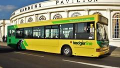 First West Of England - Badgerline. WX05 RVJ. 42901. (Drive-By Photography) Tags: first westofengland weston wsm westonsupermare badgerline adl dennis dart pointer bus psv