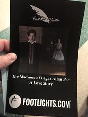 the madness of edgar allan poe. a love story (timp37) Tags: footlight madness edgar allan poe october 2018 illinois oak brook mayslake peabody estate first folio theatre
