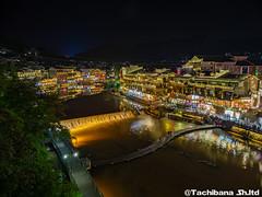 P8310208-HDR (et_dslr_photo) Tags: nightview night nightshot countryside river riverside fenghuangucheng hunang