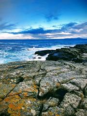 Ute -|- Far out (erlingsi) Tags: erlingsi iphone erlingsivertsen rundeisland runde sea coast explored