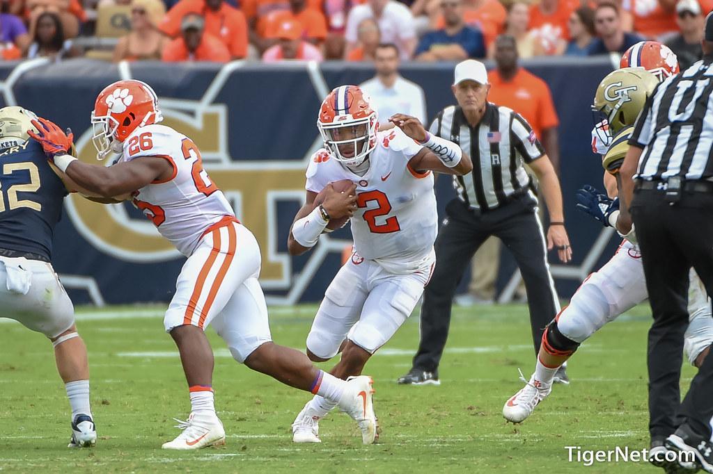 Clemson Photos: Kelly  Bryant, 2018, Football
