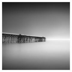 San Simeon Pier (Marco Maljaars) Tags: marcomaljaars longexposure le monochrome pier jetty blackandwhite bw beach mood sansimeon lee filter seascape waterscape water ocean