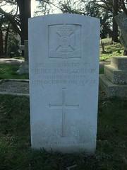 Second Lieutenant Henry James Cordon (Living in Dorset) Tags: wargrave wardead grave headstone wwi 1916 henryjamescordon aldershotmilitarycemetery aldershot hampshire england uk gb