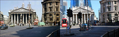 Bank Junction`1964-2018 (roll the dice) Tags: london city squaremile old ec3 ec4 local history changes collection retro bygone nostalgia comparison vanished demolished sad surreal traffic cars travel transport taxi cab tube underground roundel entrance subway streetfurniture architecture urban england people fashion uk art classic sixties canon tourism tourists threadneedle bank oldandnew pastandpresent hereandnow grade 2 listed dirty clean blitz bus liverpoolandlondonandglobeinsurance victoria homerton lights wellington