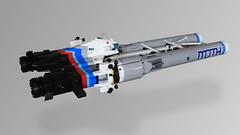 MOTH - Back (Oscar Cederwall (o0ger)) Tags: lego moc ship shiptember2018 moth racer