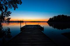 Vårdnäs (christianviktorsson) Tags: canon 50d 1022mm lake rengen rängen sunrise linköping östergötland sweden water dimma sjö vårdnäs bestorp