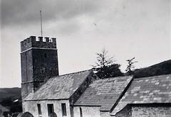 Oare Church Somerset 1950 (Bury Gardener) Tags: bw blackandwhite oldies old snaps scans england uk britain landscape 1950s 1950 devon somerset