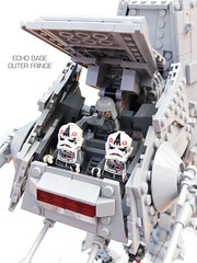 Echo Base Outer Fringe 10 (Rubblemaker) Tags: moc lego starwars star wars toys building blocks atat hoth