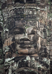 Giant buddha face inside Bayon temple, Siem Reap Province, Angkor, Cambodia (Eric Lafforgue) Tags: ancientcivilisation angkor angkorwat apsara architecture artscultureandentertainment asia bayon bayontemple buddha buddhism cambodia colourimage cultures day famousplace giant history humanbodypart humanface indochina khmer monument nopeople oldruin outdoors photography placeofworship prasatbayon religion spirituality statue stonematerial temple thepast tourism traditionallycambodian travel traveldestinations unescoworldheritagesite vertical wat yasodharapura camboimg9367 siemreapprovince
