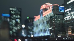ART AT THE MART (Jovan Jimenez) Tags: rack focusing art merchandise mart sony alpha a6500 tilt shift nikon series e 35mm f25 ilce seriese eseries chicago night tiltshift kipon video manuallens oldlens manualfocus rackfocus