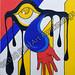 """""""Untitled"""" by Brianna C, acrylic, $100.00"""