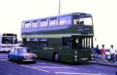 Slide 122-59 (Steve Guess) Tags: epsom downs surrey england gb uk racecourse bus lcsw london country southwest manchester leyland atlantean ncme northern counties 406f gnd437n an