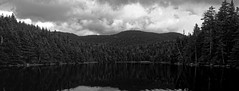 Sterling Pond (BenWestPhotography) Tags: canon canon5d 5d canonef50mmf18 50mm dxo dxoopticspro10 vermont vt mountains fall autumn sterlingpond trees smugglersnotch microsoftice