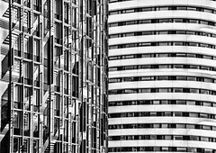 In both directions - explored (Joseph Pearson Images) Tags: building architecture abstract london blackandwhite bw mono