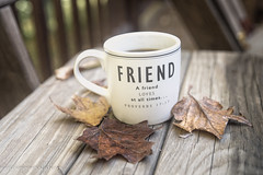 A Cuppa Among Friends (Singing Like Cicadas) Tags: 2018 autumn september westvirginia outdoors coffee cuppa canaanvalley tuckercounty appalachia 1000gifts onethousandgifts leaves friendship