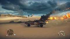 Mad Max_20181011225351 (Livid Lazan) Tags: mad max videogame playstation 4 ps4 pro warner brothers war boys dystopia australia desert wasteland sand dune rock valley hills violence motor car automobile death race brawl scenery wallpaper drive sky cloud action adventure divine outback gasoline guzzoline dystopian chum bucket black finger v8 v6 machine religion survivor sun storm dust bowl buggy suv offroad combat future