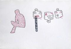 foolish drawing (civilization) (ksaito57) Tags: art foolish drawing tag word roach