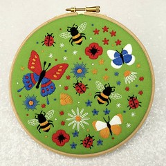 The Bees and Wildflowers embroidery kit (see yesterdays post) was so popular that I thought you'd all enjoy some more bumble bees to stitch which was where the idea for this years Bees and Butterflies kit came from. 🐝 🐞 I was wondering ab (ohsewbootiful) Tags: ifttt instagram embroidery etsy etsyuk gifts giftsforher homedecor hoopart fiberart handembroidery handmade etsyseller embroideryhoop shophandmade handmadegifts decor wallhanging bestofetsy instaart hoopsofinstagram madebyme stitchersofinstagram