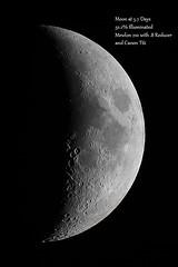 Moon (tbird0322) Tags: astronomy astrophotography luna lunar moon takahashi mewlon