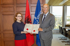 Albania Joins WIPO's Vienna and Locarno Agreements (WIPO | OMPI) Tags: wipo ompi francisgurry directorgeneral albania