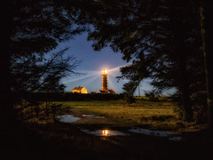 Lista lighthouse (bjorns_photography) Tags: lighthouse night light building forest path reflection photography view water