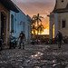 Sunset in Trinidad, Cuba