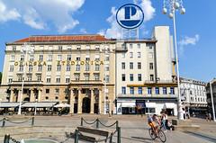 Ban Josip Jelačić square, Zageb