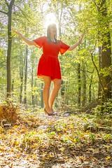 IMG_9288 (fab spotter) Tags: younggirl portrait forest levitation brenizer extérieur lumièrenaturelle